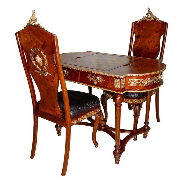 میز و صندلی شطرنج کد 1045
