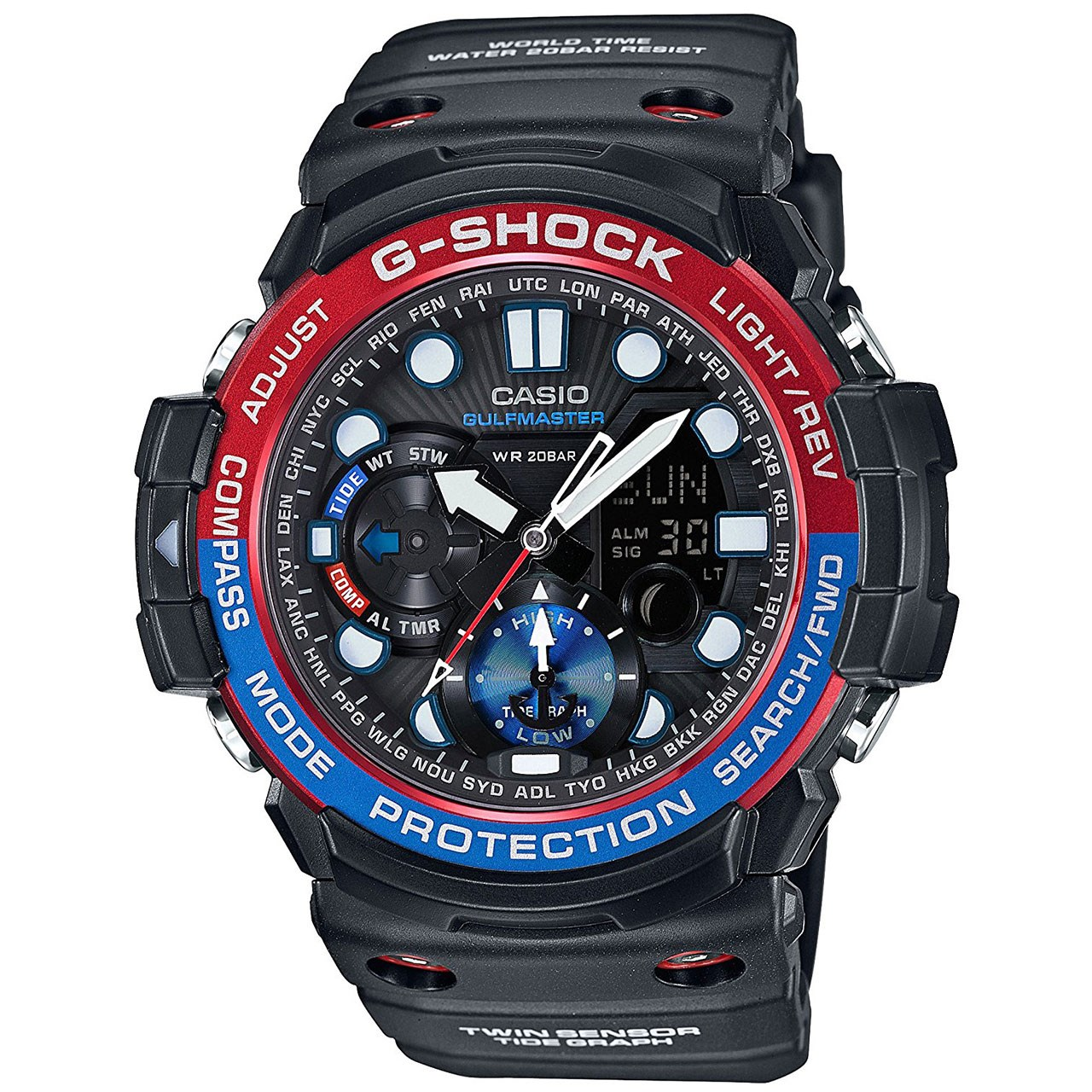 ساعت مچی عقربه ای مردانه کاسیو جی شاک مدل GN-1000-1ADR