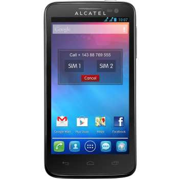 تصویر گوشی آلکاتل وان تاچ اسنپ 7025D   ظرفیت 4 گیگابایت Alcatel One Touch Snap 7025D   4GB