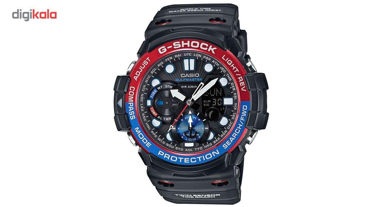 ساعت مچی عقربه ای مردانه کاسیو جی شاک مدل GN-1000-1ADR -  - 1