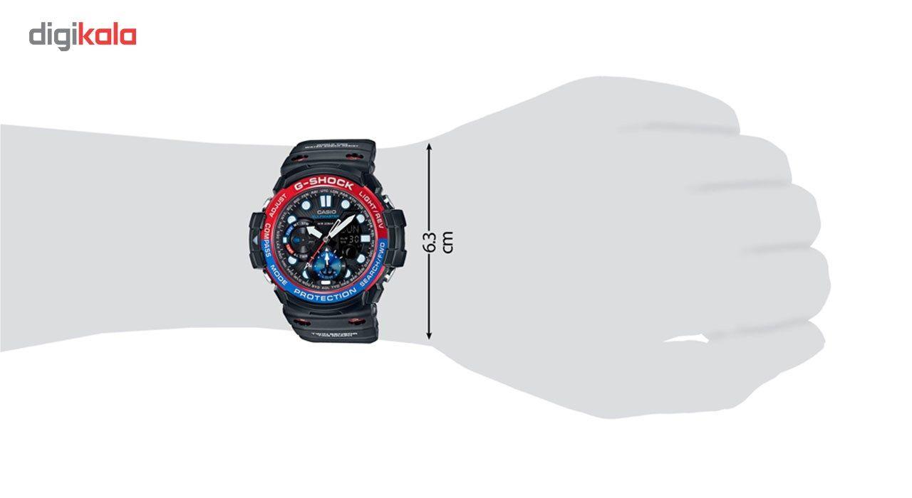 ساعت مچی عقربه ای مردانه کاسیو جی شاک مدل GN-1000-1ADR -  - 4