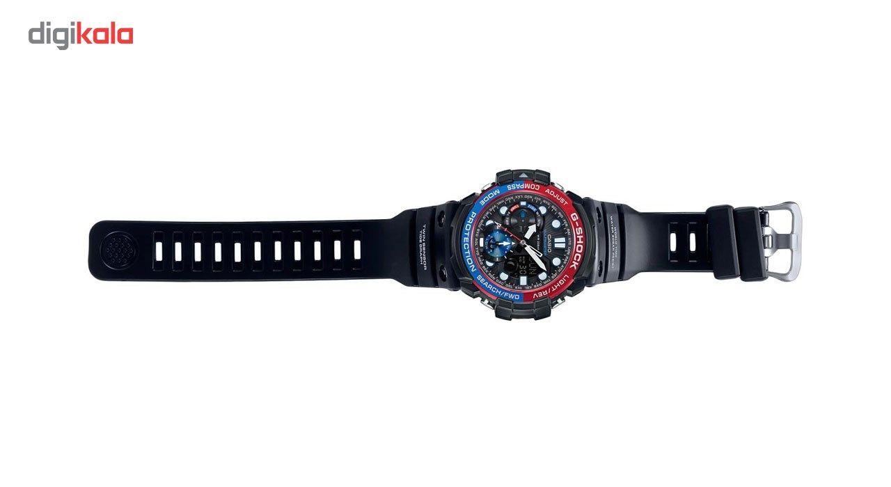 ساعت مچی عقربه ای مردانه کاسیو جی شاک مدل GN-1000-1ADR -  - 6