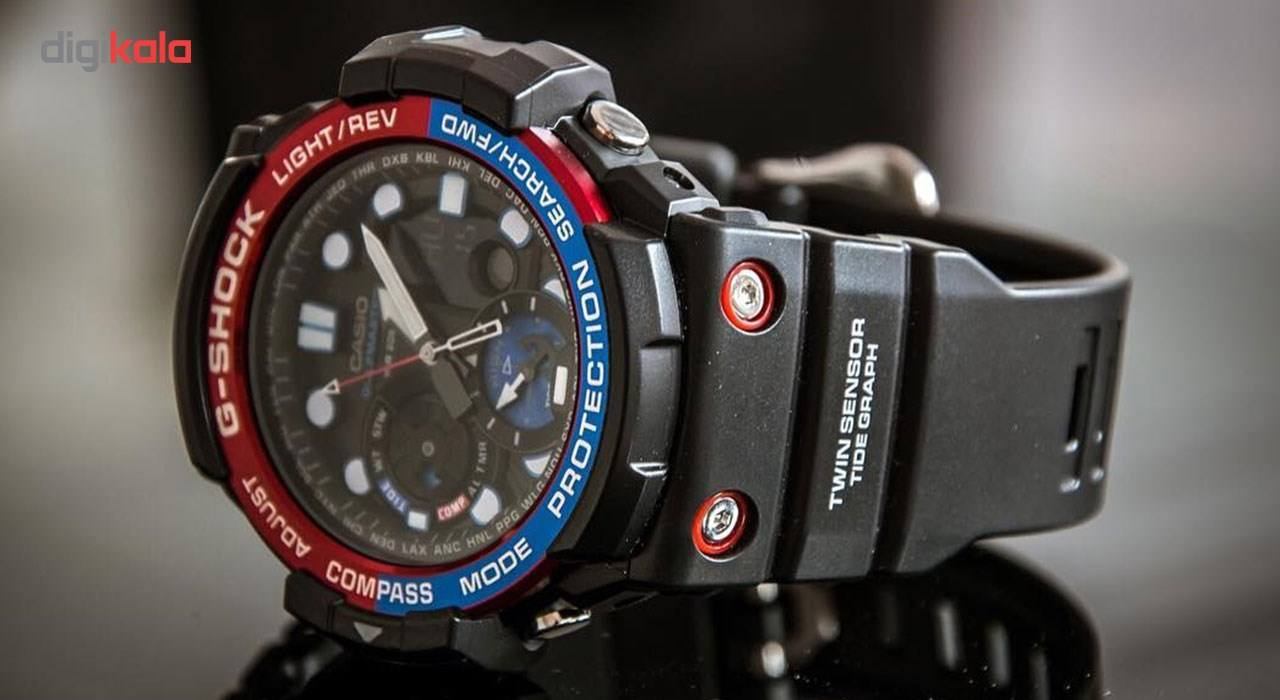 ساعت مچی عقربه ای مردانه کاسیو جی شاک مدل GN-1000-1ADR -  - 7