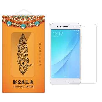 محافظ صفحه نمایش شیشه ای کوالا مدل Tempered مناسب برای گوشی موبایل شیائومی Mi A1