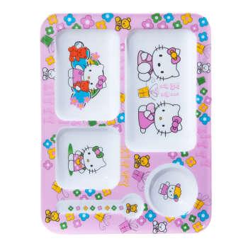 ظرف غذای کودک طرح Hello Kitty مدل 398