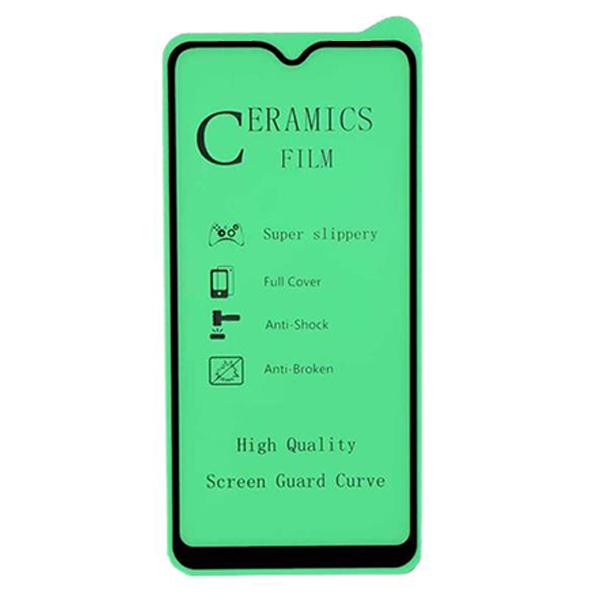 محافظ صفحه نمایش سرامیکی مدل C-CLEAR مناسب برای گوشی موبایل سامسونگ Galaxy A12