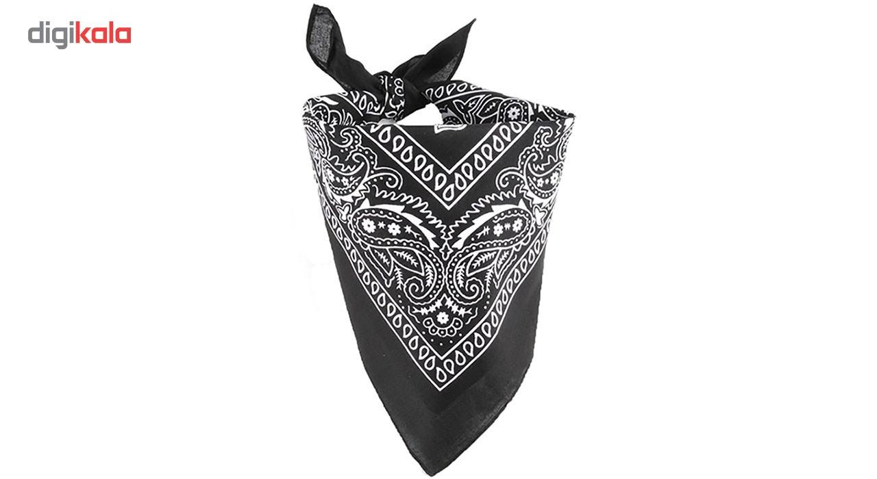 دستمال سر و گردن باندانا مدل اشکی main 1 4