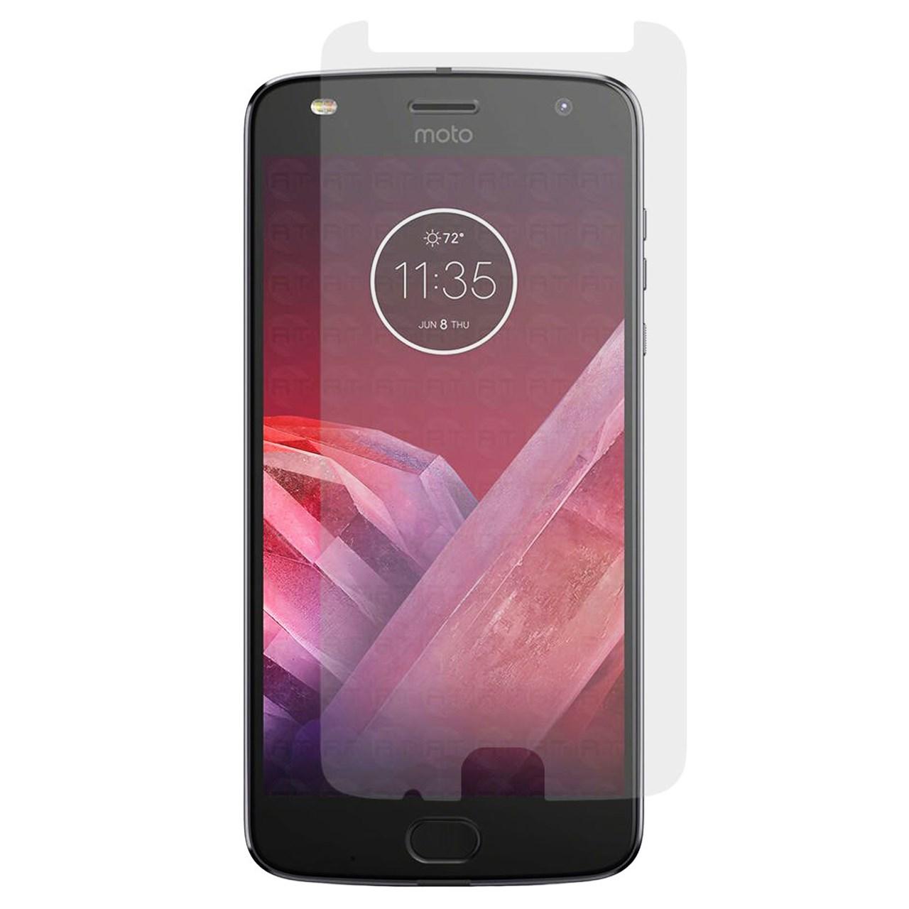محافظ صفحه نمایش شیشه ای مدل Tempered مناسب برای گوشی موبایل موتورولا Moto Z2 Play