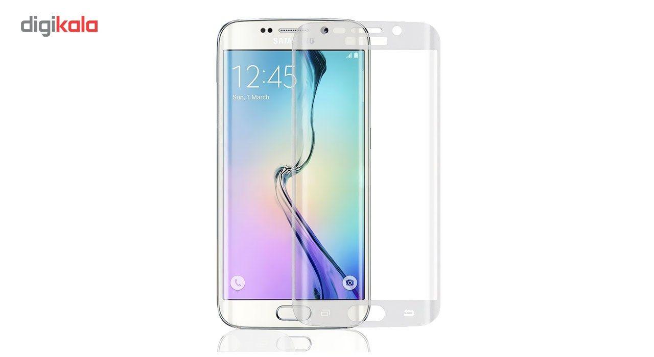 محافظ صفحه نمایش شیشه ای تمپرد مدل Full Cover مناسب برای گوشی موبایل سامسونگ Galaxy S7 Edge main 1 4