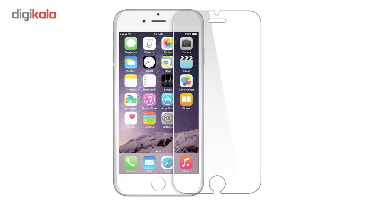 محافظ صفحه نمایش شیشه ای تمپرد مناسب برای گوشی موبایل اپل iPhone 6/6S main 1 1