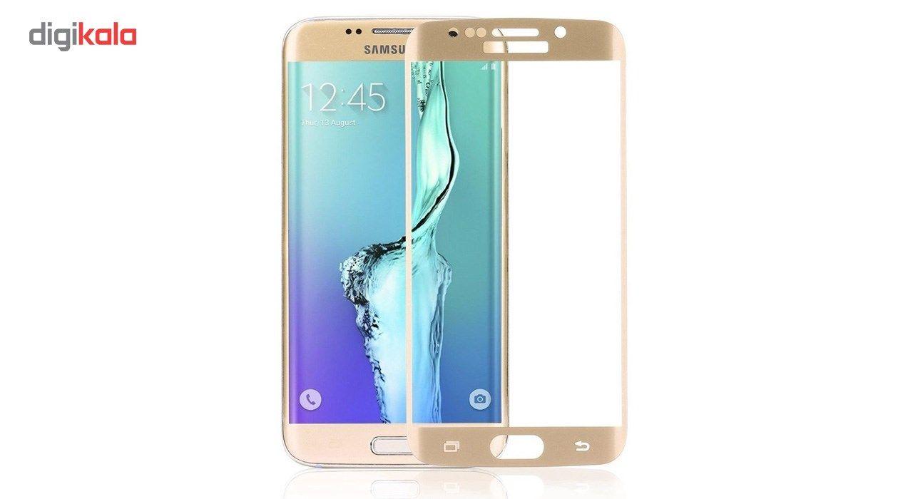 محافظ صفحه نمایش شیشه ای تمپرد مدل Full Cover مناسب برای گوشی موبایل سامسونگ Galaxy S7 Edge main 1 7