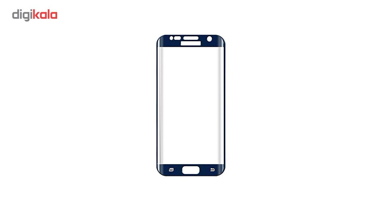 محافظ صفحه نمایش شیشه ای تمپرد مدل Full Cover مناسب برای گوشی موبایل سامسونگ Galaxy S7 Edge main 1 9