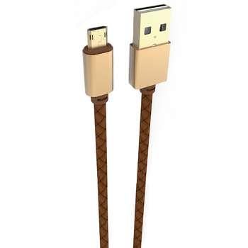 کابل تبدیل USB به microUSB الدینیو مدل LS25 طول 1.2 متر