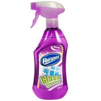شیشه پاک کن بنفش رافونه حجم 500 میلی لیتر