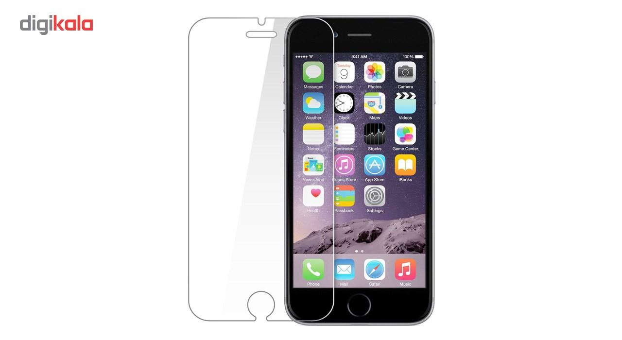 محافظ صفحه نمایش شیشه ای تمپرد مناسب برای گوشی موبایل اپل iPhone 6/6S main 1 2