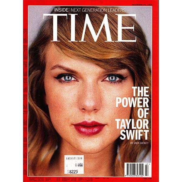 مجله تایم - بیست و چهارم نوامبر 2014