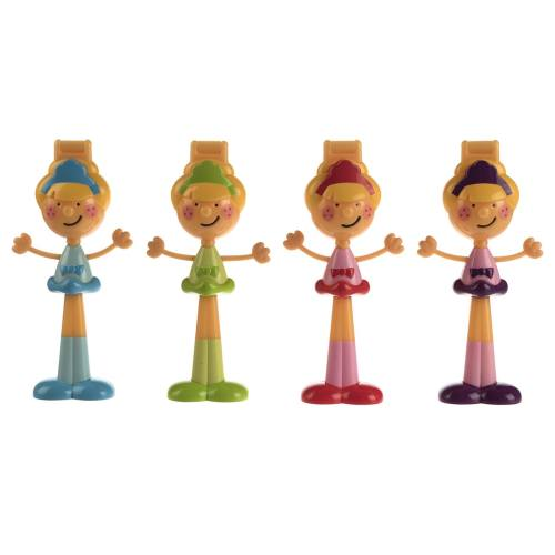 قالب تزیین کیک ژویی مدل Heads - بسته 4 عددی