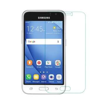 محافظ صفحه نمایش شیشه ای مدل Tempered مناسب برای گوشی موبایل سامسونگ Galaxy J1 2016