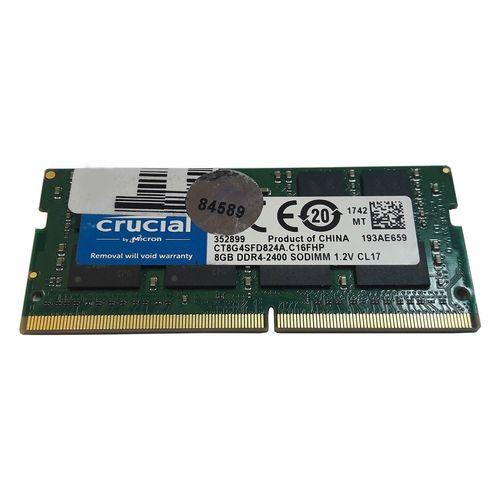 رم لپ تاپ کروشیال مدلDDR4 2400S MHz CL17 ظرفیت 8 گیگابایت