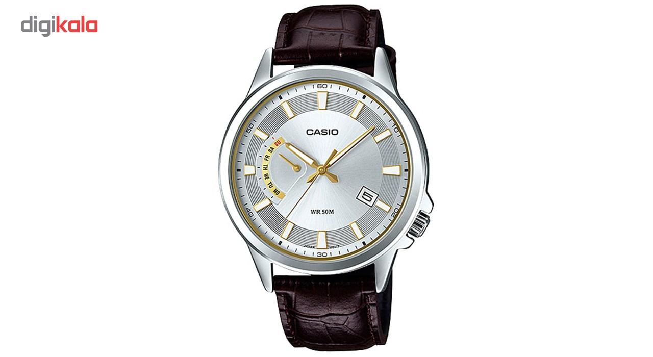 خرید ساعت مچی عقربه ای مردانه کاسیو مدل MTP-E136L-7AVDF