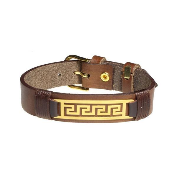 دستبند طلا 18 عیار سیم و گوهر مدل GLP109