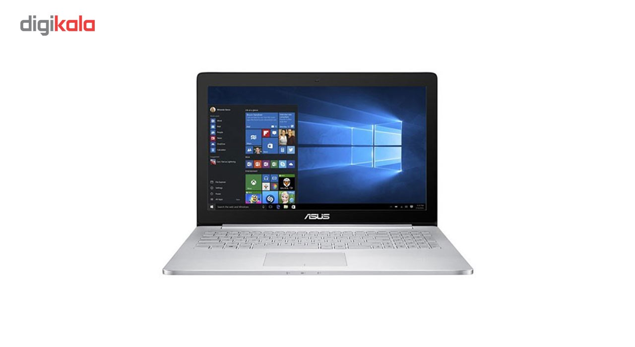 لپ تاپ 15 اینچی ایسوس مدل Zenbook Pro UX501VW - B