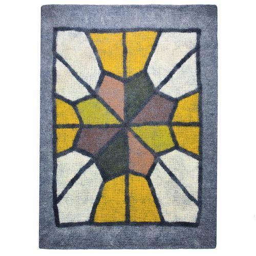 نمد فرش سه متری  گالری ماها کد 199003