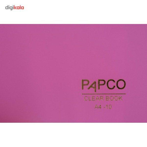 کلیر بوک 10 برگ پاپکو کد A4-10 main 1 10