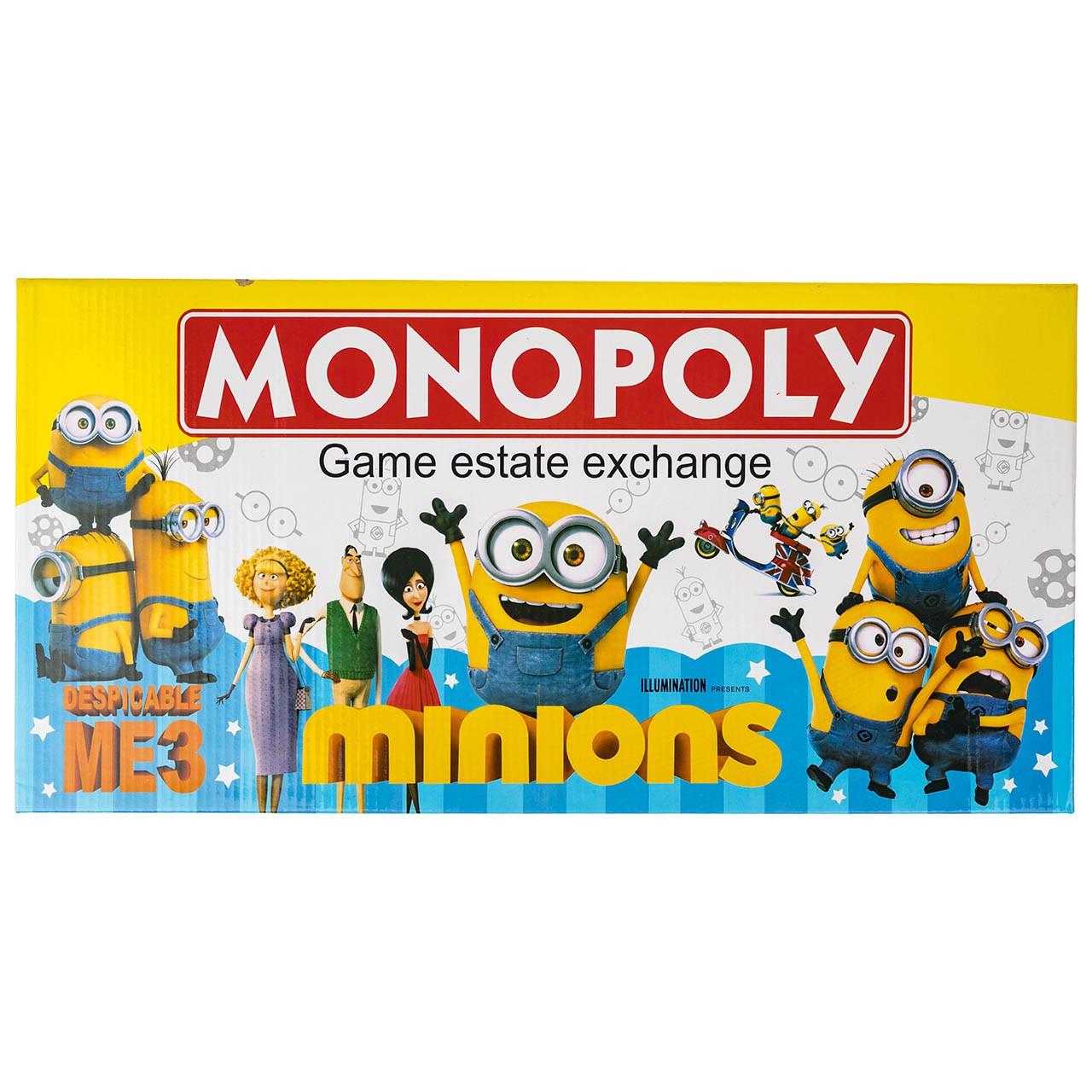 بازی فکری مدل Minions Monopoly