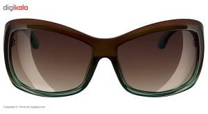 عینک آفتابی اسپای سری Farrah مدل Farrah Mint Chip Fade Happy Bronze Fade