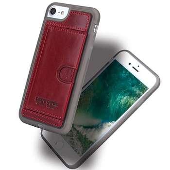 کاور چرمی پیرکاردین مدل PCL-P11 مناسب برای گوشی آیفون 7 و آیفون 8