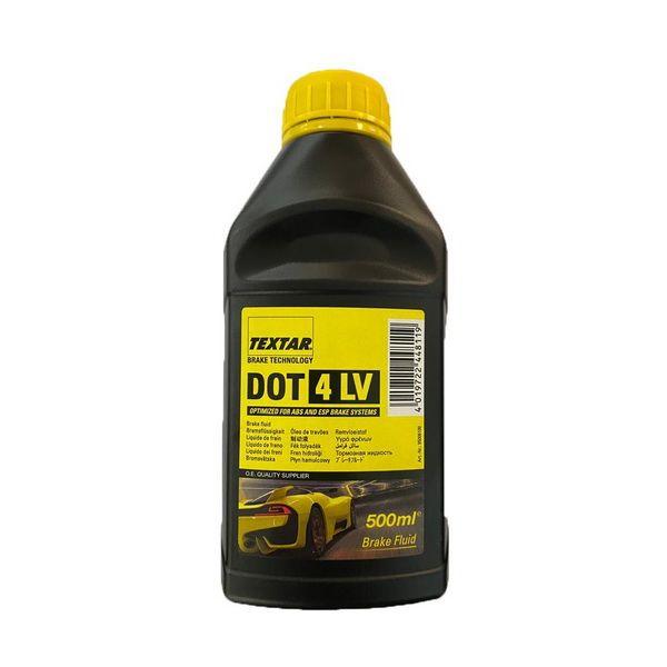 روغن ترمز خودرو تکستار مدل DOT4LV حجم 500 میلی لیتر