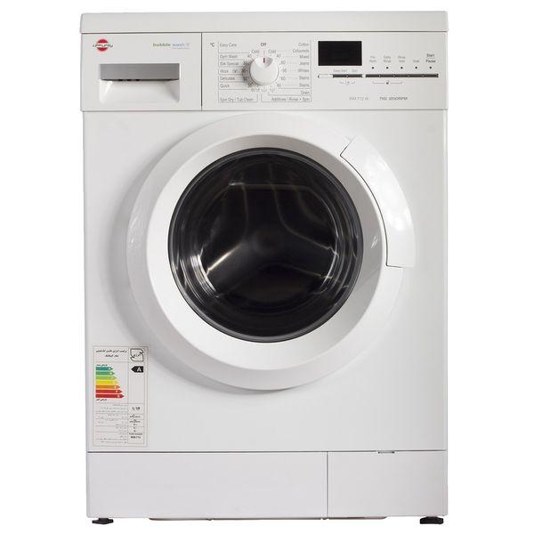 ماشین لباسشویی ال جی مدل WM-712N با ظرفیت 7 کیلوگرم | LG WM-712N Washing Machine - 7 Kg