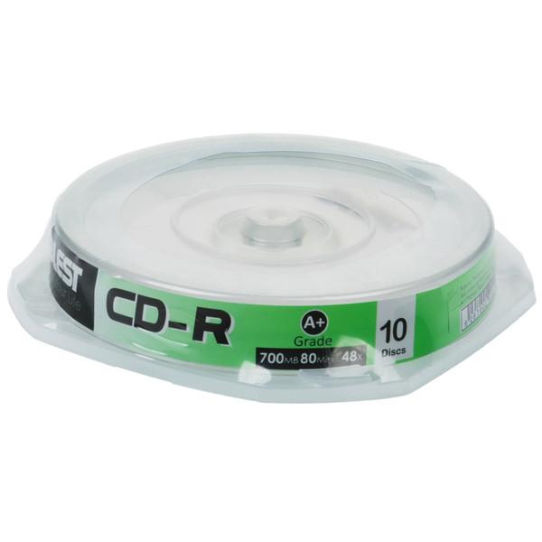 سی دی خام بلست مدل CD-R - بسته 10 عددی