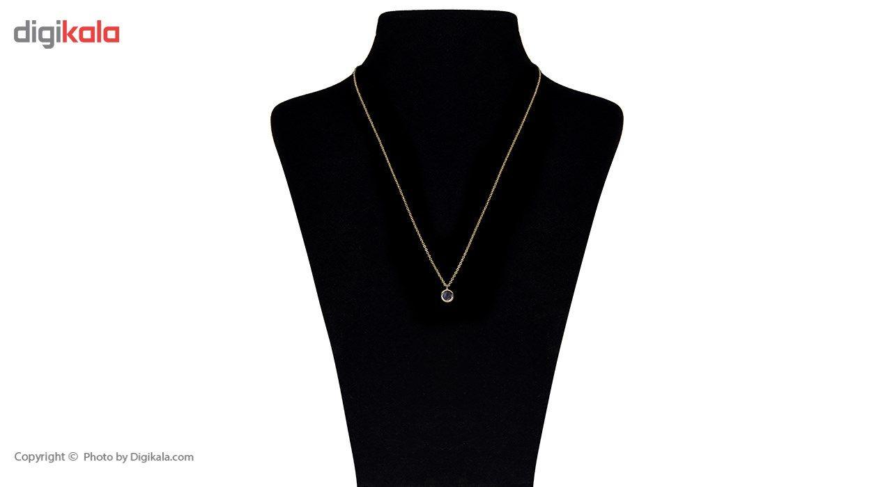 گردنبند طلا 18 عیار ماهک مدل MM0403 - مایا ماهک -  - 1
