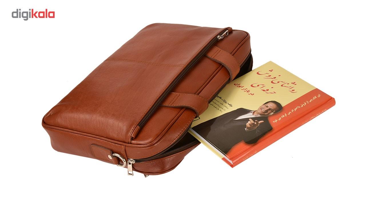 خرید                                     کیف اداری چرم طبیعی کهن چرم مدل L79-1