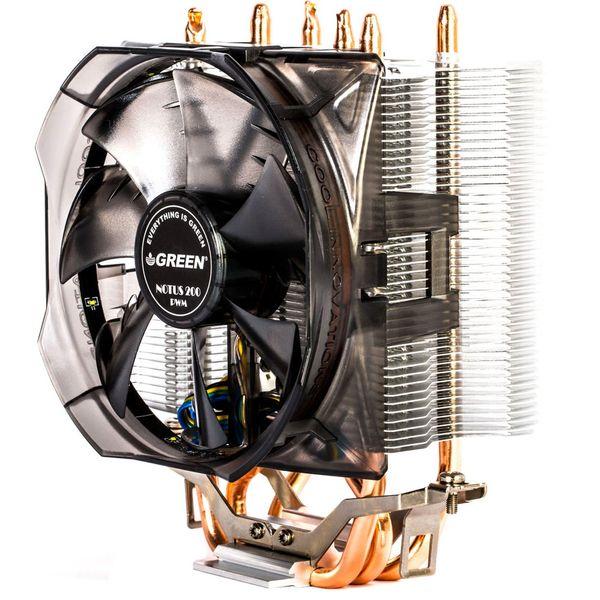 سیستم خنک کننده بادی گرین مدل NOTOUS 200-PWM | Green NOTOUS 200-PWM Air Cooling System