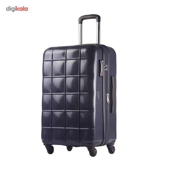 چمدان اکولاک مدل Square سایز متوسط