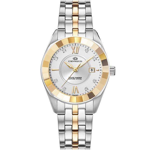 ساعت مچی عقربه ای زنانه کوین واچ مدل C156TWH