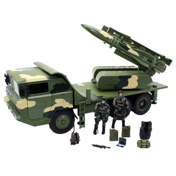 اکشن فیگور ام اند سی مدل Anti Aircraft Missile Vehicle 77090