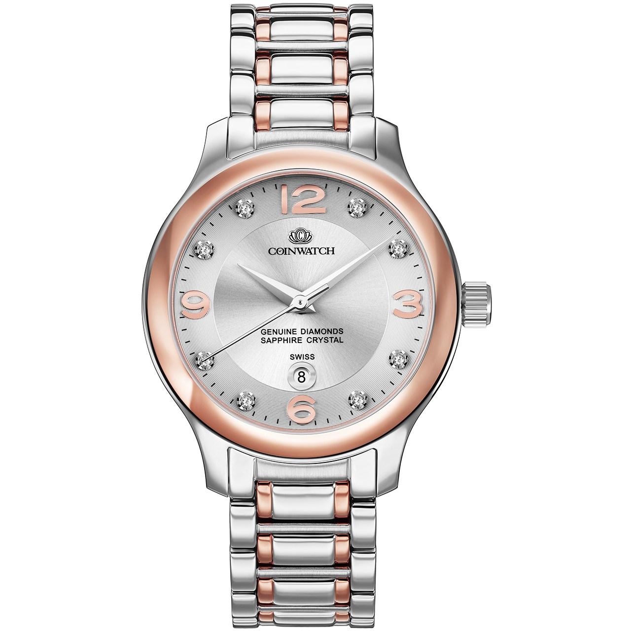 ساعت مچی عقربه ای زنانه کوین واچ مدل C133RSN