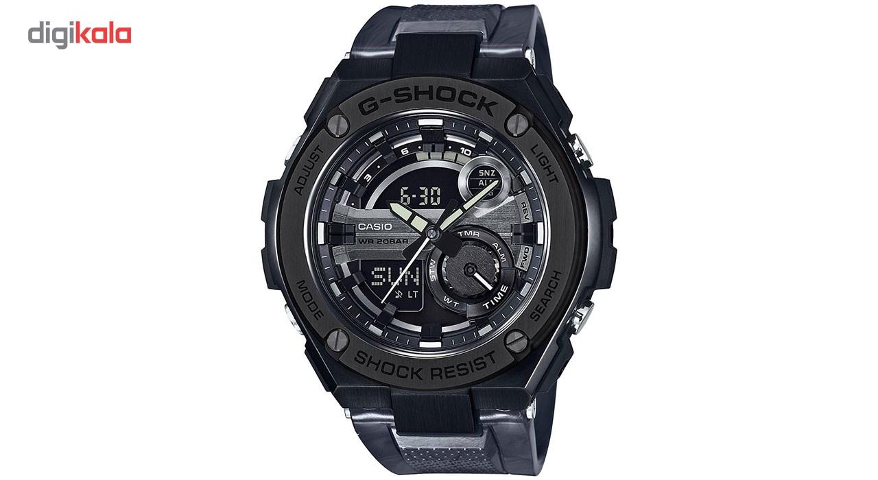 خرید ساعت مچی عقربه ای مردانه کاسیو جی شاک مدل GST-210M-1ADR