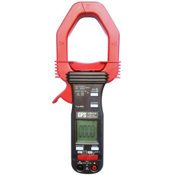 کلمپ متر جی پی اس لیمیتد مدل GPS-270 دیجیتالی پرتابل AC DC