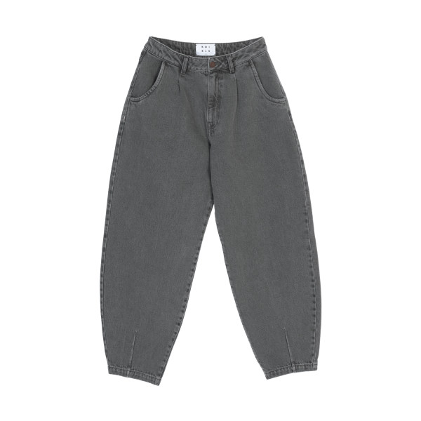 شلوار جین مردانه کوی مدل 229 خمره ای رنگ خاکستری روشن