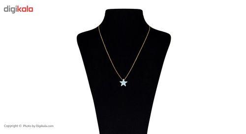 گردنبند طلا 18 عیار ماهک مدل MM0539 - مایا ماهک