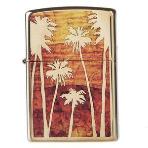 فندک زیپو مدل Fuzion Palm Tree Sunse