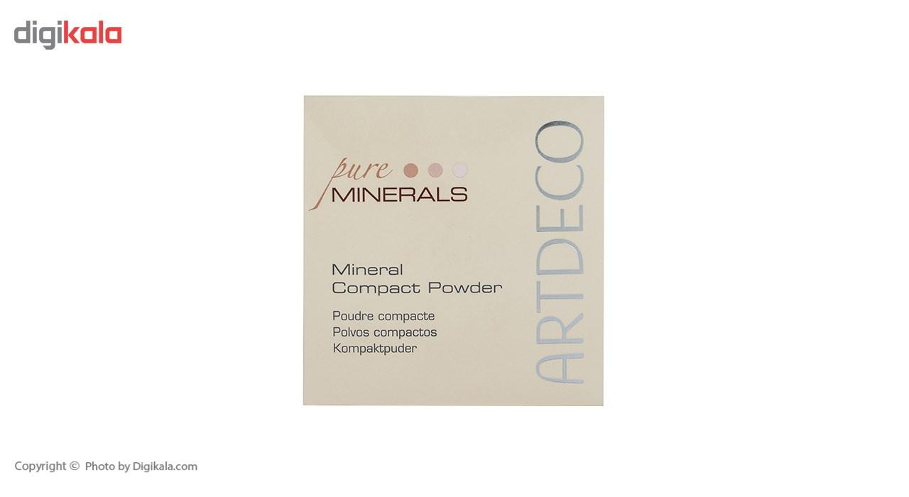 پنکیک فشرده آرت دکو مدل Mineral شماره 25