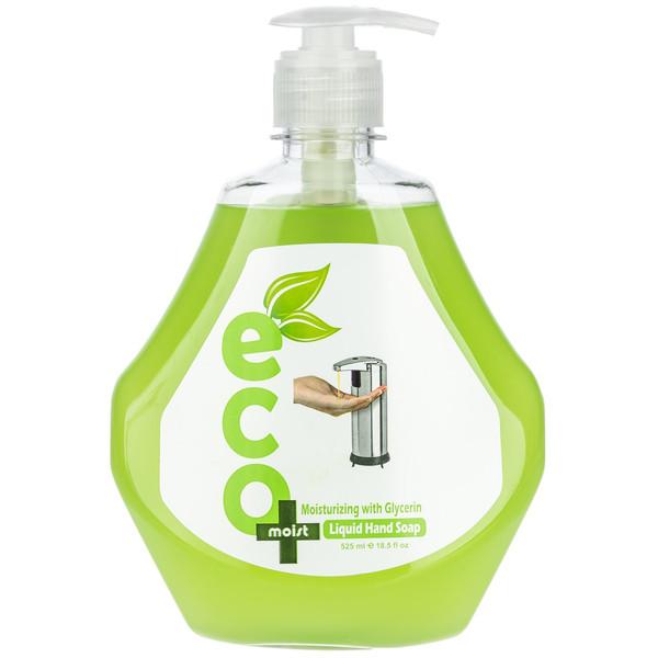 مایع دستشویی گلیسیرینه ایکو مویست مدل Green حجم 525 میلی لیتر