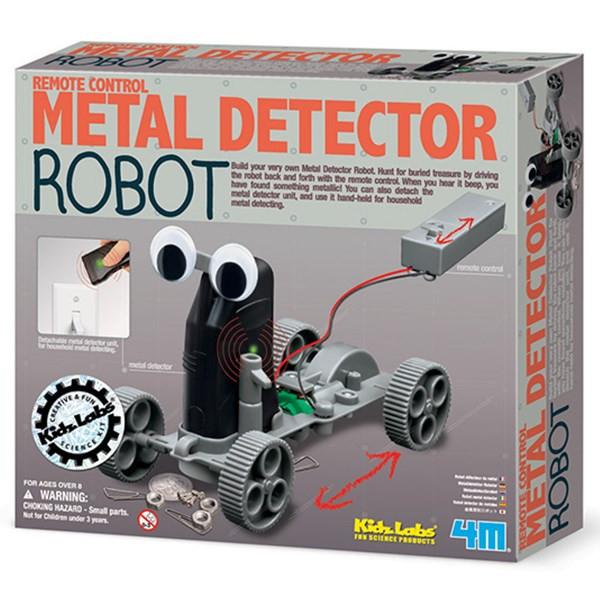 کیت آموزشی 4ام مدل Remote Control Metal Detector Robot 03297