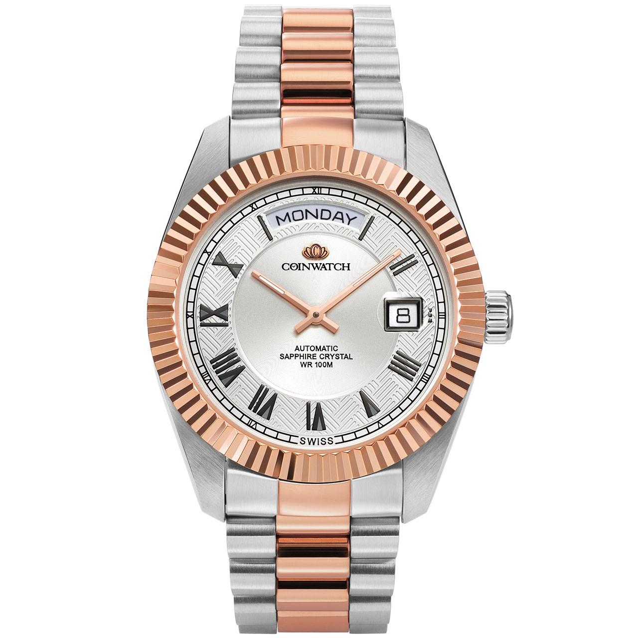 ساعت مچی عقربه ای مردانه کوین واچ مدل C109RWH